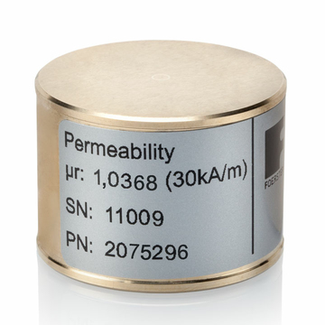Permeability Reference Standard smaller